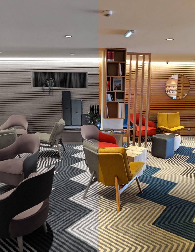 Salon d'accueil - Hôtel Atlantic wimereux